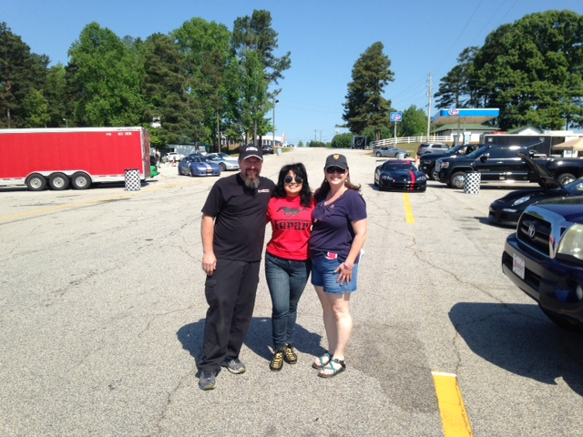 Keith and Micki Madison from Goldcrest Motorsports. Lifesavers!