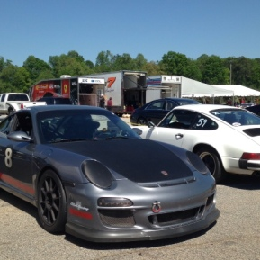 #8 and Bianca at Road Atlanta paddocks