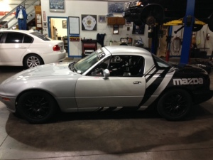 1990 Mazda MX-5 Spec Race Car, Ms. Foxy Moxie