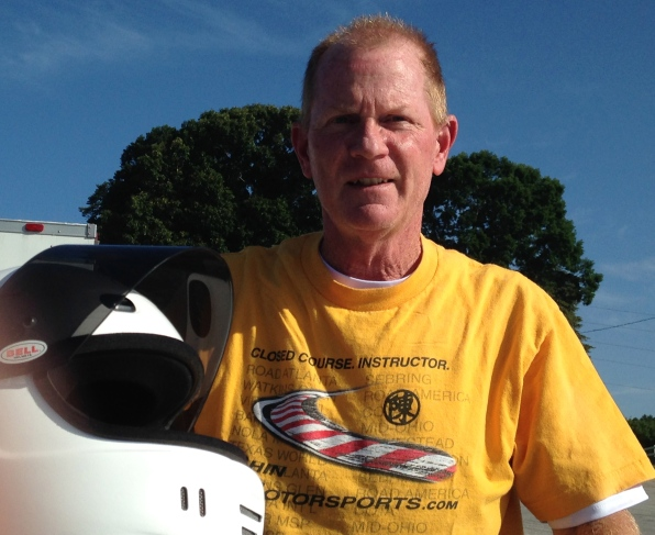 Terry E, who hails from south Florida is a frequent sight at Sebring.