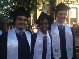 Best buds on graduation day.