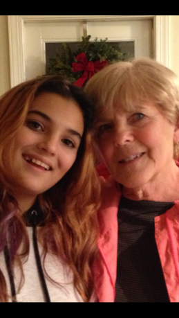 Two generations of lovely ladies in my family.