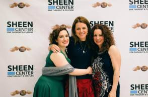 A great night for three amazing women, my friend Terri V on the right broke into the big time as a TV writer.