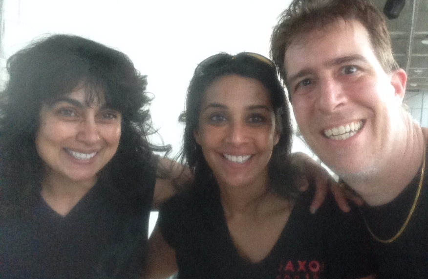 Marcus and Kalpana were my garage neighbors. What fun to meet another South Asian woman physician -- it was her very first track day.